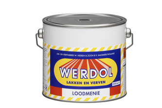 Epifanes Werdol Loodmenie 2 L, Bruin, BLIK