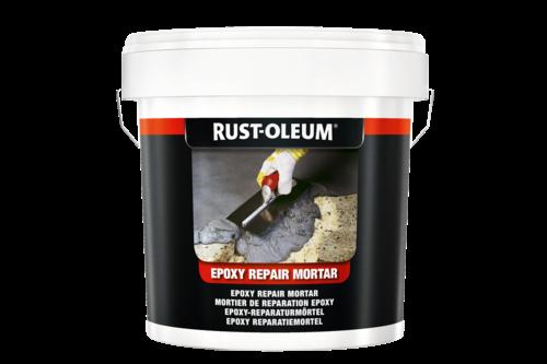 Rust-oleum 5180 epoxy reparatiemortel 2,5 kg, donkergrijs, emmer
