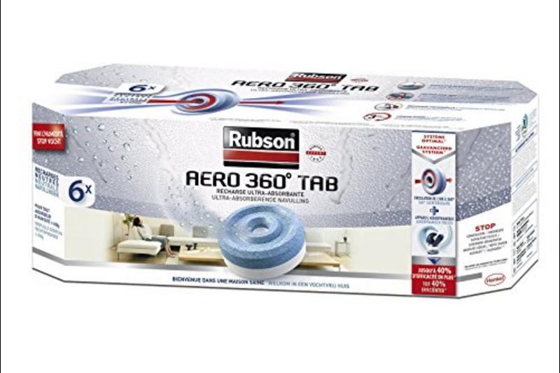 rubson aero 360 navullingen bestel je vochtregulering bij werken met merken. Black Bedroom Furniture Sets. Home Design Ideas