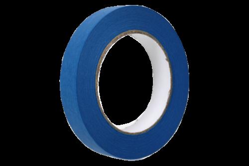 Unimark afplakband uv blauw 25mm x 50m, blauw