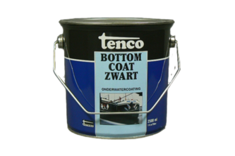 Tenco Bottomcoat 2,5 LTR, ZWART, BUS