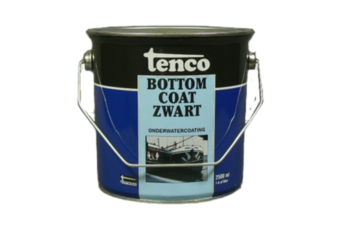 Tenco bottomcoat 2,5 ltr, zwart,  , bus