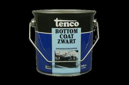 Tenco bottomcoat 2,5 ltr, zwart, bus