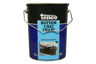 Tenco Bottomcoat 5 LTR, ZWART