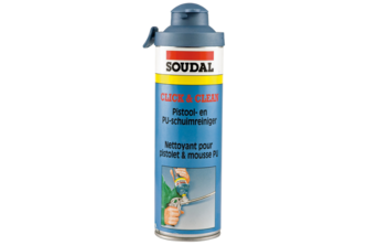 Soudal PU Schuim Click & Clean 500 ML, BUS