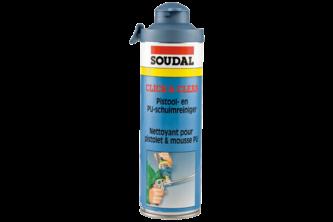 Soudal PU Schuim Click & Clean 500 ML