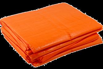 Argos PE Dekkleed / Dakzeil – Oranje 6 x 10 M, 100 g/m2, Oranje