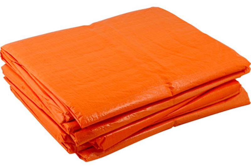 Afbeelding van Argos pe dekkleed dakzeil oranje 10 x 12 m, 100 g m2,