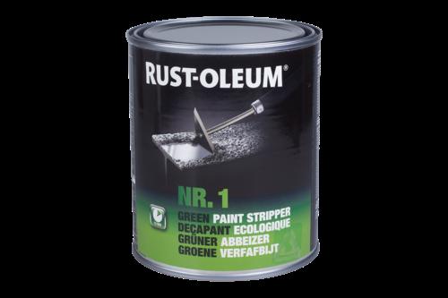 Rust-oleum groene verfafbijt 750 ml, groen, blik