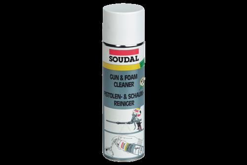 Soudal gun & foam cleaner 500 ml, bus