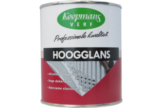 Koopmans Hoogglans Lakverf 750 ML, PARELWIT