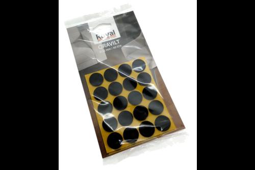 Royal furniture care oranje furniture care oravilt in blisterverpakking - 40 stuks van 22 mm