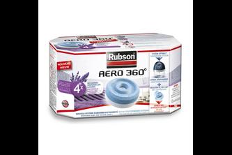 Rubson AERO 360 Navullingen 4x 450 GR, Lavandel - Relax