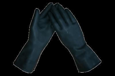 MARIGOLD INDUSTRIAL Marigold Ansell Black Heavyweight G17K AlphaTec 87-118 handschoen