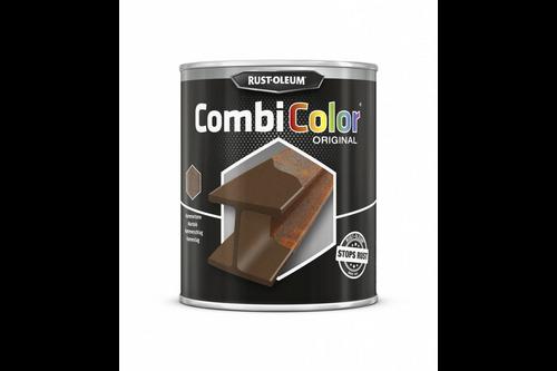Rust-oleum combicolor hamerslag 750 ml, donkergrijs, blik