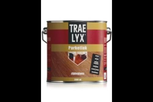 Trae-lyx parketlak hoogglans, 2,5 ltr,