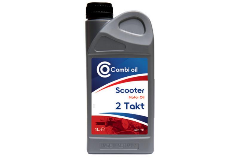Afbeelding van combi olie oil scooter 2t 1 l, fles
